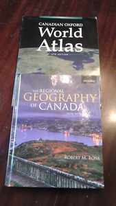 GEOGRAPHY TEXTBOOKS $20 FOR BOTH
