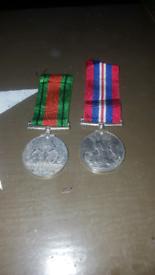 Genuine ww2 medals
