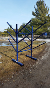 Rack for jump poles