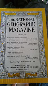 National Geographic - from 1951 to 2004