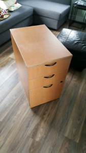 filing cabinet / drawers for desk or office