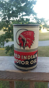 RED INDIAN OIL CAN  WHITE ROSE AND MORE