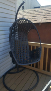 Basket chair two