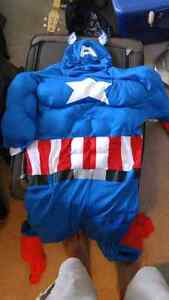 Yes. It's a Captain America costume.