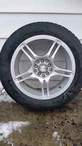 Great Condition Winter Tires with Rims