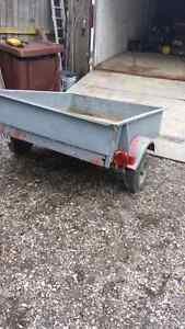 Utility Trailer.. box size 5 feet long by 4 feet wide.. $375