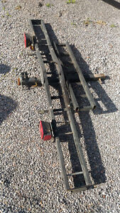 """Motorcycle Carrier 2"""" Hitch Rack"""