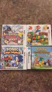Pokemon, Mario and Sonic games for sale