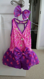 Assorted girls dance costumes