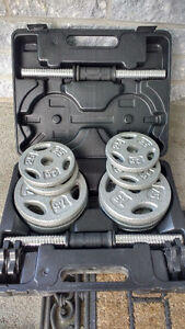 40lb dumbbell set