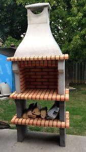 All brick and concrete BBQ'S imported from Europe