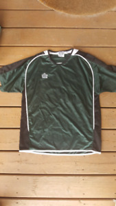 FULL SET OF ADULT SOCCER JERSEYS, PINNIES