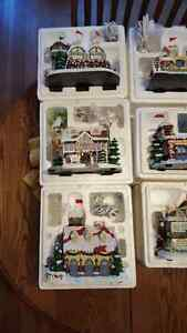 Rudolph's Christmas Town - 11 pieces Cambridge Kitchener Area image 2