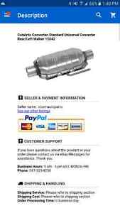 Catalytic converter for pree 2000 cars  London Ontario image 3