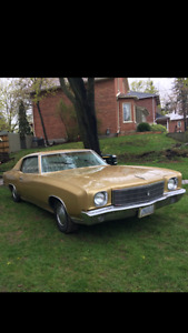 1970 First year Monte-Carlo for sale