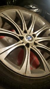 Mags + pneus d ete 225 40 R18 pour BMW serie 3