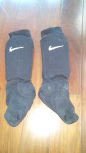 Euc indoor soccer socks with shin pads