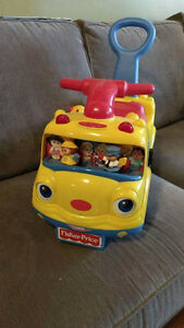 Fisher price ride-on school bus Peterborough Peterborough Area image 2