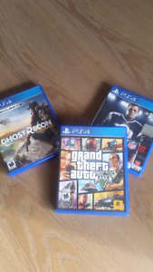 PS4 GAMES-- GTA5-- WILDLANDS --MADDEN