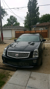 Cadillac sts-v supercharged 469hp new safety