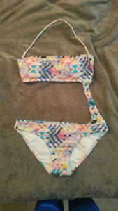 **TWO WOMENS BATHING SUITS**