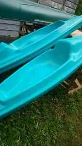 PAIR OF SIT ON TOP KAYAKS