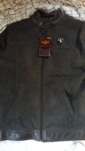 Female Suade leather Porche Jacket.