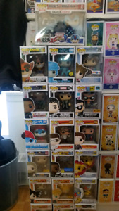 Assortment of Funko Pops