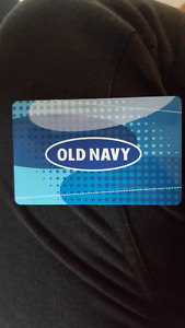 25$ Old Navy Gift Card