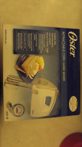 Electric mixer-brand new.