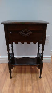 Antique phone table / side table