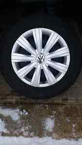 WINTER TIRES NORD FROST 100 195/65R15 WITH RIMS FOR SALE
