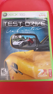 Xbox 360 Live Test Drive Limited Game