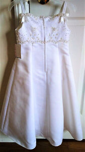 REDUCED!!! NEW with Tag David's Bridal Flower Girl Gown 3-4T