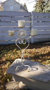 "12"" tall candle holder"