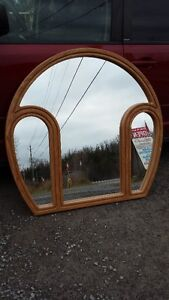 OAK FRAMED DRESSER MIRROR reduced