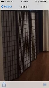 2 Paravents neuf / new room divider