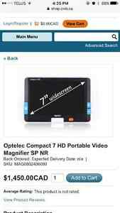Optelec compact 7HD portable video magnifier