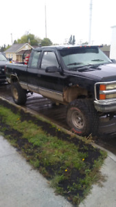 1995 lifted chevy 4x4