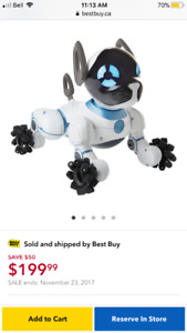 Wowwee Chip the robotic dog. Brand new in box
