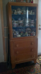 REDUCED! ~ Vintage China Cabinet
