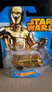 HOT WHEELS DIE CAST STAR WARS VOLKSWAGEN DRAG BUS