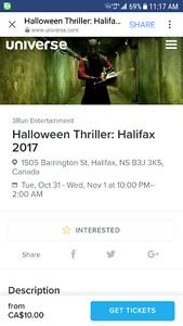 Halloween Thriller: Halifax 2017