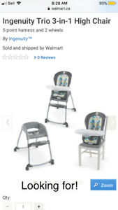 Looking for high chair