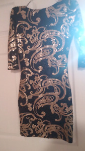 Beautiful sequence dress small