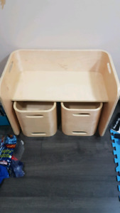 Kids Table/Desk and Chairs