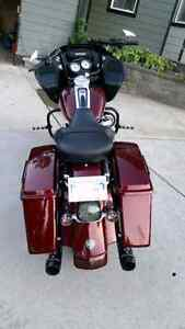 2008 harley davidson roadglide custom bagger North Shore Greater Vancouver Area image 5