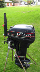15HP EVINRUDE OUTBOARD MOTOR 1993