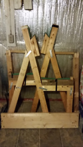 Squat rack (Wooden)
