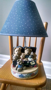"Children's lamp .  ""Toy box Teddy's​""  (never used)"
